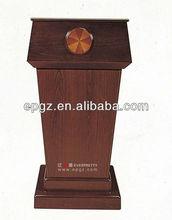 Modern wooden pulpit, Speech table for Church, holy church podium