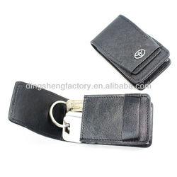Professional Design genuice car Key Ring Wallet for Men