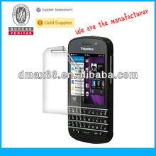 New arrival fashion mobile phone accessories for Blackberry Q10 oem/odm(Anti-Fingerprint)