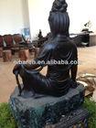 Best Sale Bronze Home Sitting Buddha Statue
