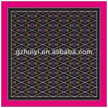 Hot Sale Customized Printing Silk Square Bandana