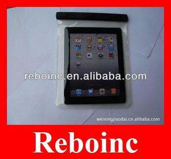 tpu/pvc waterproof case for ipad tablet