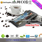 ultra slim mtk6589 android 4.2 3g 9300 android 4.2 quad core mini tablet pc smartphone