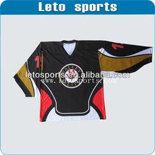 custom digital print Adult Men's and Women's ice Hockey League sportswear
