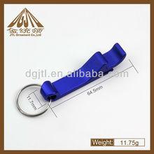 Mini Dark Blue Bottle Opener