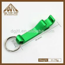 Portable Aluminum Alloy Key Ring Bottle Opener