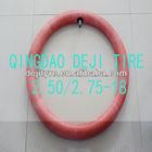 motorcycle inner tube 2.50/2.75-18 natural/butyl rubber inner tube