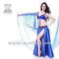 neuesten hot seide sexy schöne Bauch Tanzperformance kostüme für tänzer