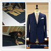 2014 Newest top Quality 100% handmade bespoke suit manufacturer