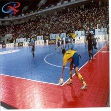 100% pp guarantee high quality popular environment-friendly interlocking indoor futsal court floor