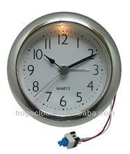 2015 Wholesale Fashione Cheap 78mm 80mm Quartz Clock Inserts With Alarm Clock And Night-Light
