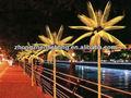 2013 venta caliente led de alta calidad de coco/palma de la mano del árbol de la luz