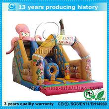 funny inflatable octopus slide for rental