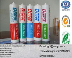Multi-purpose acetic silicone sealant