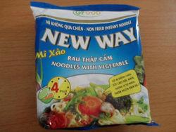 Instant Noodle Beef Flavour
