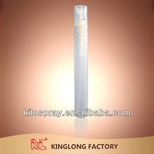 pen shaped beautiful design 5ml 7ml 8ml 10ml pen shaped fine mist spray pump