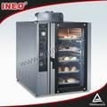 8 bandejas de pan de acero inoxidable comercial suministros de panadería / Mini panadería para Gas / precios de Gas panadería hornos eléctricos de uso doméstico