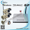4CH Wireless Mini NVR Kit with network function & 100m wireless distance