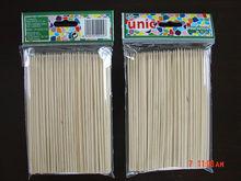 18 de bambú pinchos