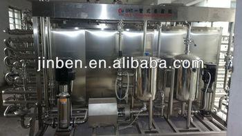 Tubular Dairy Pasteurizer Machine with Siemens PLC System