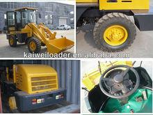 CE certification ZL08 rock loaders for export