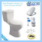 Environmental protection saving water design sanitary ware two piece toilet bowl price
