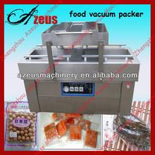 Double chamber vacuum package machine DZ600/2SB for tofu,beef,pork,chicken,becon,sea food 0086-150 9343 2115