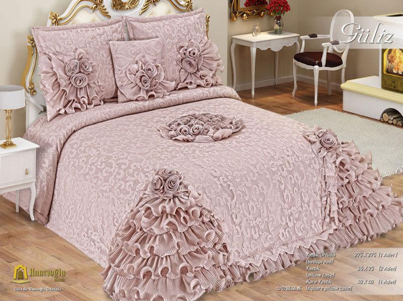 Guliz couvre lit ensemble couvre lit id du produit for Ensemble de chambre blanc