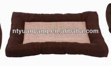 dog design cushions Luxury Pet Dog Bed Fabric Dog House For Sale