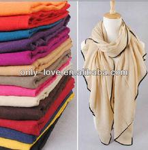 100% viscose plain long scarf,shawls/hijab VIS001