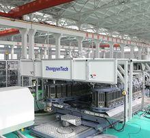 dual wall corrugated pipe machine