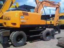 Hyundai Wheel Excavator 140W