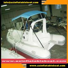 19ft 580cm fiberglass RIB inflatable boat MB-2