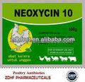 neomicina sulfato pó nomes de antibióticos