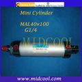 cilindro pneumático açoinoxidável