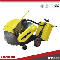 Petrol concrete road cutter 1000mm blade cutting 350-400mm depth with 15-22HP engine