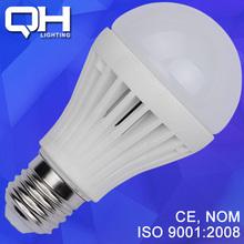 Ceramic E27 7W LED Bulb Light