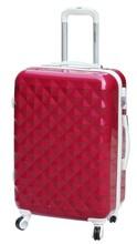 china manufacturer diamond shape travel luggage/trolley luggage/pc luggage