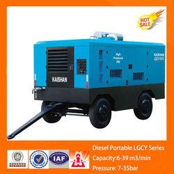 kaishan LGCY-12/7 diesel mini portable air compressor/ tire sealant with air compressor