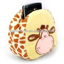 2015 OEM Cute Animal plush mobile holder
