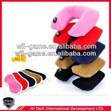 3in1 Set Travel custom travel pillow earplug eyemask neck air cushion
