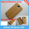 Bamboo Wooden Case Cover Protector for samsung note 3 n9000