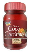 Safflower oil + Coconut oil Softgel 1 gram