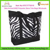 New Arrived 600D Polyester Fashion Zebra Tote Bags Wholesale