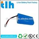 2s1p 7.4v 2200mah li ion battery pack / 18650 li-ion battery pack 2s1p 7.4v