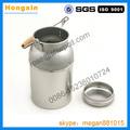 304 40l bidons lait en acier inoxydable pour storaging et transportable avec le prix usine