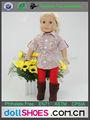 patrón de la flor de la muñeca ropa ropa de juguete muñeca american girl ropa