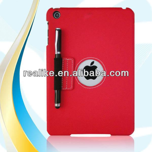 2013 yeni stil yeni ipad Mini durumda, deri çanta ipad mini 2, ipad mini durumda