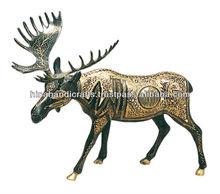 Brass Stag
