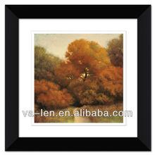 Black Wall Decorative frames Tree Road landscape picture